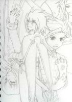 Tales so Symphonia - sketch by Dayu