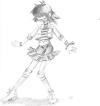 GORILLAZ - Roller Rink Noodle by MarqueeMoonGirl