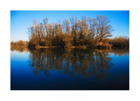 December's lake by DiValla