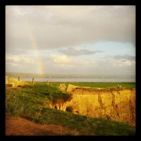 rainbow over moher by september28