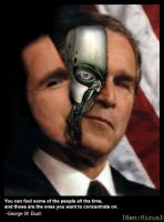 Bush-Borg by Widerstand