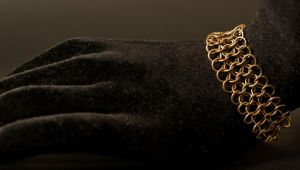 bracelet - bronze chain by Sizhiven