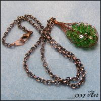 Elven Village Necklace by 1337-Art