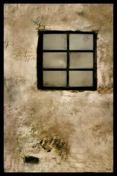 Old Window by ArefinPrints