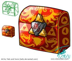 Art Sheet - Oriental Chest by Tailic