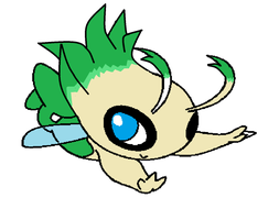 Cute lil celebi more then just a fantasy by accailia118