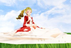 .:MMD:. in Light of the Calm by Xella-15