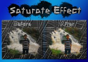 Saturate Effect by ThaMex4lif3