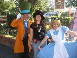 Alice, The Mad Hatter, and Me by GallyKaru