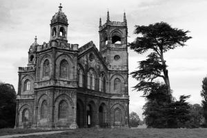 Gothic Temple Stowe Park by birchley