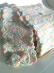Pastel rainbow scarf by jely-claris-anne