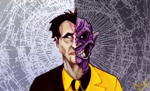 Two Face by WonderDookie