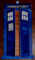 Tardis Birthday Card by sonickingscrewdriver