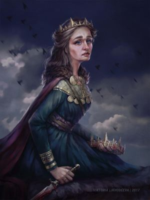 The King is dead. Long live the Queen! by likhodeeva