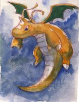 Dragonite by Pogofinity