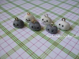 Rock Charms 1-6 - Granite and Marble by FunkadelicPsychoFish