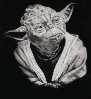 Yoda by stupidsheep