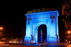 Triumphal Arch in Bucharest by Dristor2507