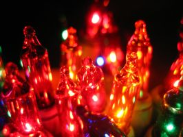 Christmas Tree Lights 5 by Holly6669666