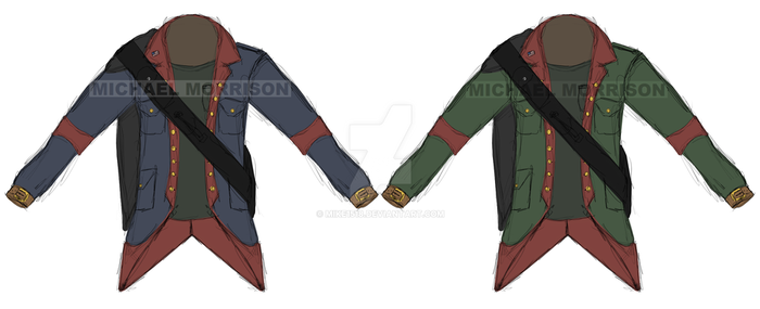 Modern Colonial style coat concept by Mike1518