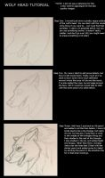 Wolf Head Tutorial by Amaya38