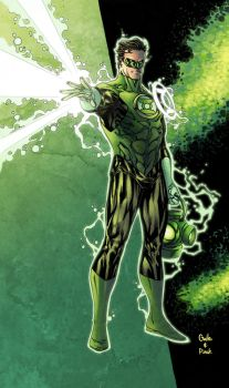 Green Lantern power Pask color by SpiderGuile
