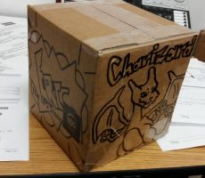 Charizard Box For Eric by Wytchdocta