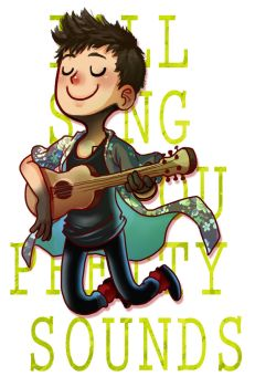Tye-Guy and his Uke by Zinfer