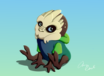 Baby Turian by ninjapoupon
