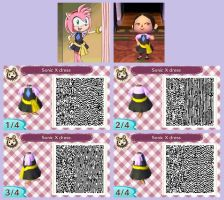 Sonic X dress QR Codes by fullmetalninja92