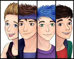 5 Seconds of Summer by Flasho-D