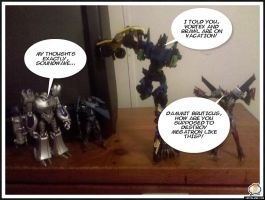 One Panel Comics 2: Assembly error by seekerblackout