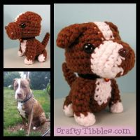 Custom Crochet - Brutus by CraftyTibbles