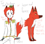 Fox Prince (closed)5points by Mint-Princess