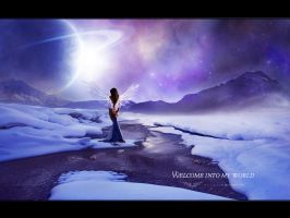 Welcome into my World - Wall by Eltasia