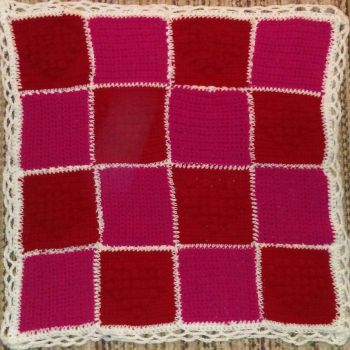 Bobble Heart Throw-- FOR SALE by Flautist4ever