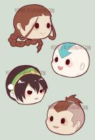 last airbender magnets by resubee