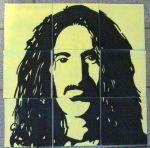 Frank Zappa (on post-its) by Neon55555