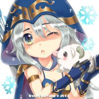 Ashe Chibi by fredericayang