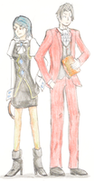 Request: Edgeworth and Von Karma by doodle-guy7