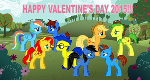 Happy Valentine's Day 2015 by LGee14