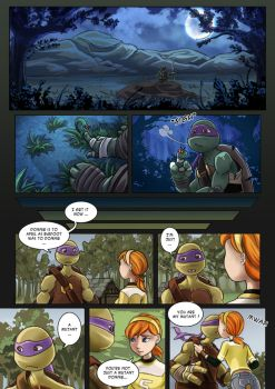 TMNT Comic Apritello I understand nothing 01 by clefchan