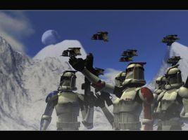 clone troopers-assault by rickkhunter