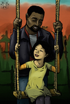 Like it was Before (Lee and Clem + Speedpaint) by Twime777