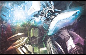 Shining Gundam signature by Onyxceptable