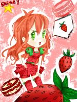 Mini fruit!girls: Strawberry by shiney-star