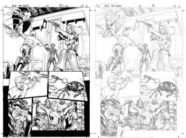 Star Wars AOTE #5 p1 with pencils by JulienHB