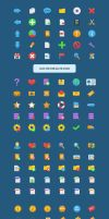 Vector Flatastic Icons by webdesigngeek