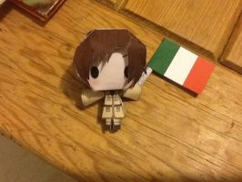 Romano Papercraft~ by momome123