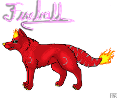 Commission~ Fireball by Ink--Chan